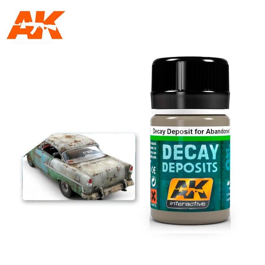 AK-Interactive Decay Deposit For Abandoned Vehicles - 35ml - AK-Interactive - AK-675