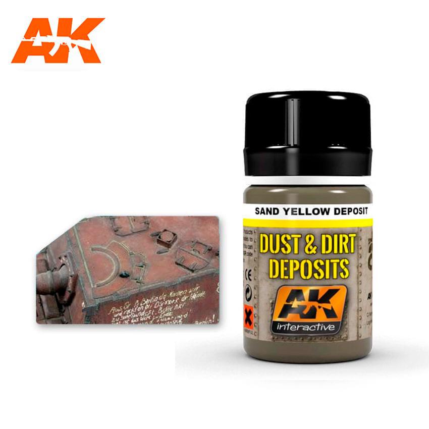 AK-Interactive Sand Yellow Deposit  - 35ml - AK-Interactive - AK-4061