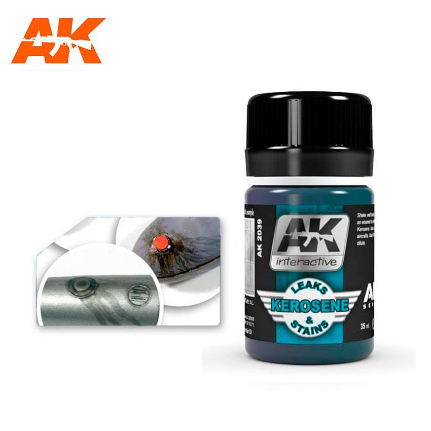 AK-Interactive Kerosene Leaks & Stains - 35ml - AK-Interactive - AK-2039
