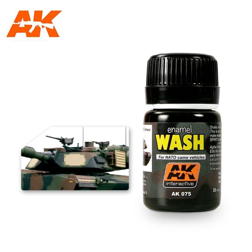 AK-Interactive Wash For Nato Vehicles - 35ml - AK-Interactive - AK-075