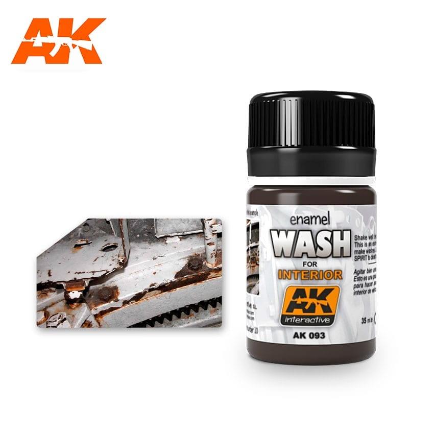 AK-Interactive Wash For Interiors - 35ml - AK-Interactive - AK-093