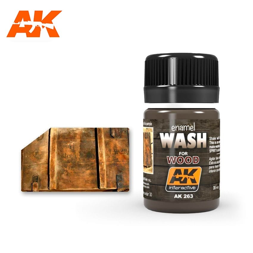 AK-Interactive Wash For Wood - 35ml - AK-Interactive - AK-263