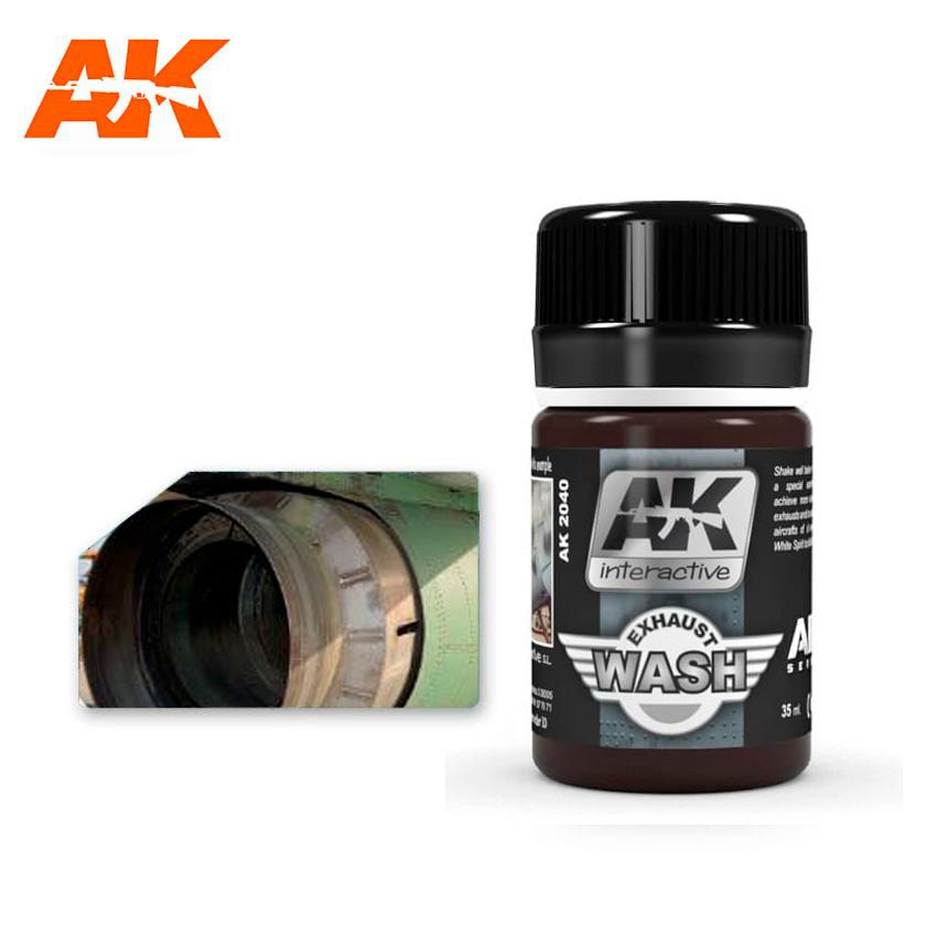 AK-Interactive Wash For Exhaust - 35ml - AK-Interactive - AK-2040
