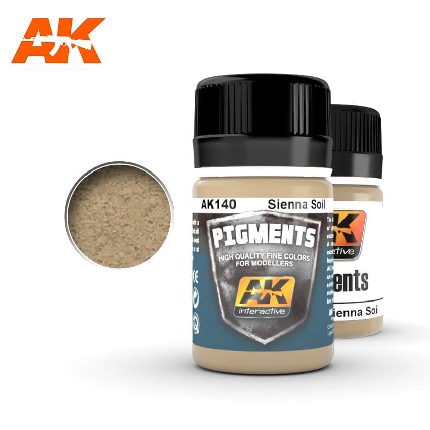 AK-Interactive Sienna Soil - 35ml - AK-Interactive - AK-140