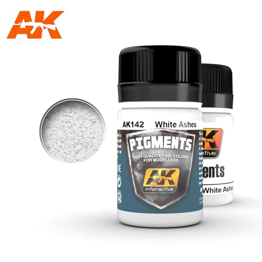 AK-Interactive White Ashes - 35ml - AK-Interactive - AK-142