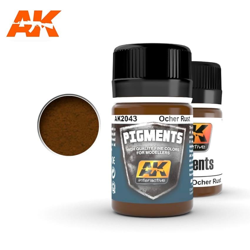 AK-Interactive Ocher Rust - 35ml - AK-Interactive - AK-2043