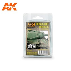 Dust And Dirt Deposits Weathering - set - AK-Interactive - AK-4060
