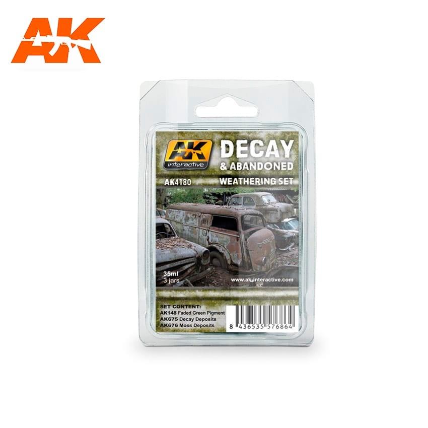AK-Interactive Decay & Abandoned Weathering - set - AK-Interactive - AK-4180