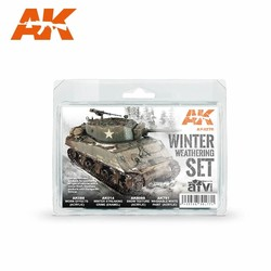 Winter Weathering - set - AK-Interactive - AK-4270