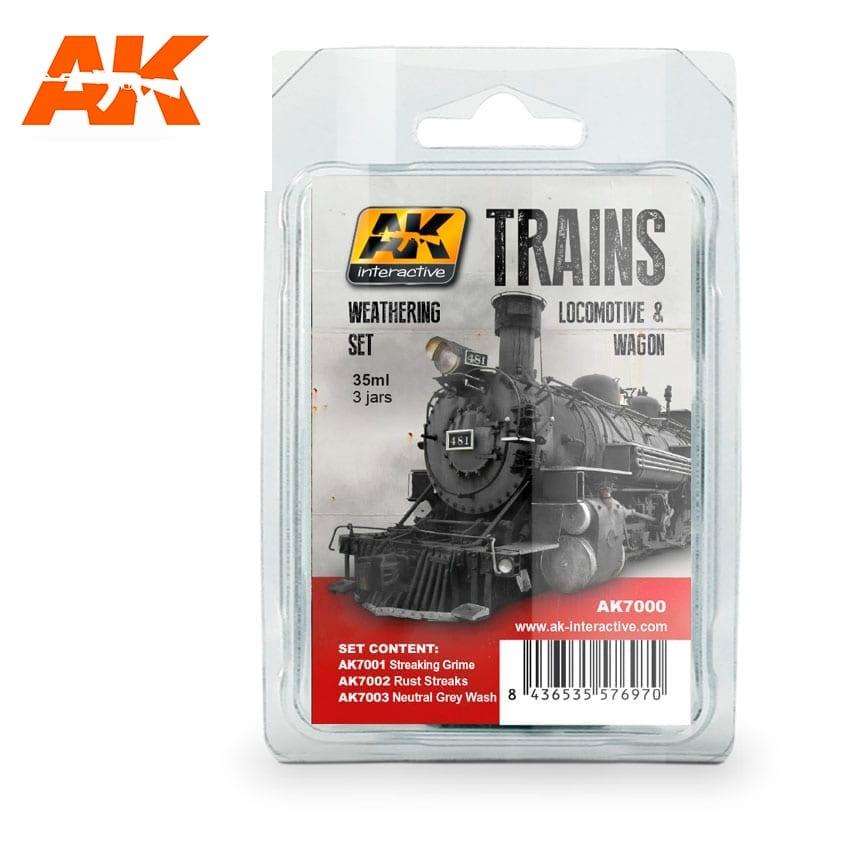 AK-Interactive Locomotive & Wagon - AK-Interactive - AK-7000