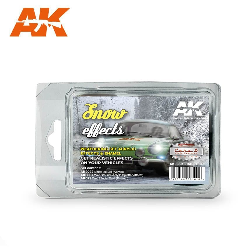 AK-Interactive Snow Effects - set - AK-Interactive - AK8091