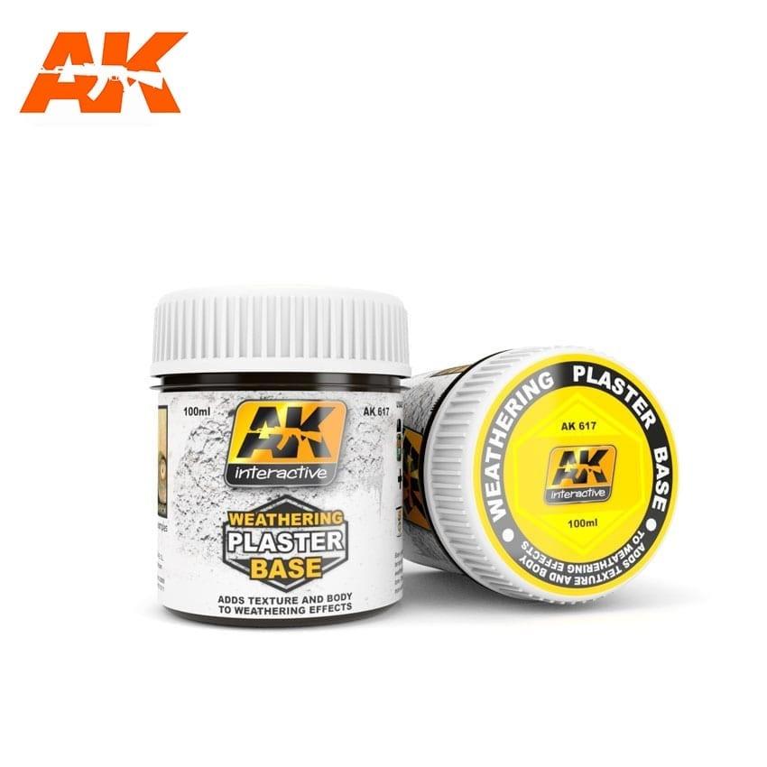 AK-Interactive Weathering Plaster Base - 100ml - AK-Interactive - AK-617