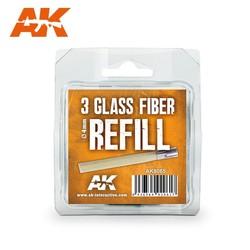 Glass Fibre Refills - AK-Interactive - AK-8065