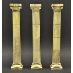 Greek Roman Ionic columns - 3 pieces - Scale 1/35 - Dio Dump - DD044