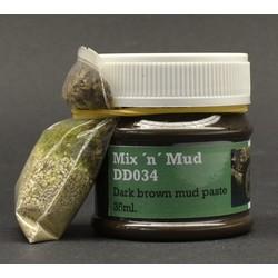 Mix ´n  mud dark brown - Dio Dump - DD034