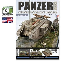 Panzer Aces #49 English - WWI Special - PANZ-0049