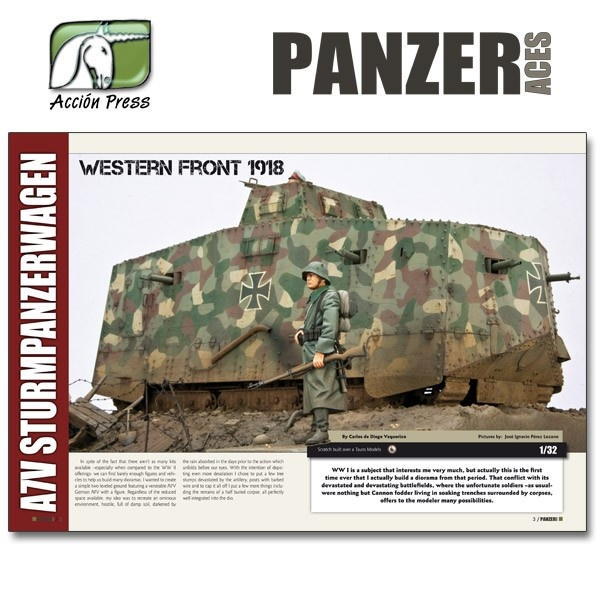 Panzer Aces Panzer Aces #49 English - WWI Special - PANZ-0049