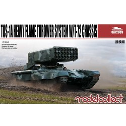 Tos-1A Heavy Flame Thrower System W/T-72 Chassis  - Scale 1/72 - Model Collect - MOT-UA72009
