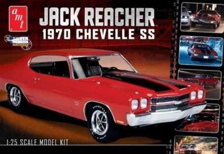 AMT Jack Reacher 1970 Chevelle SS - Scale 1/24 - AMT -AMT-0871