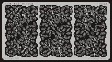 Eduard Leaves Locust Tree- Scale 1/35 - Eduard - EDD 35717