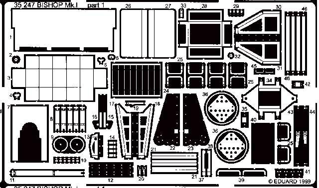 Eduard Bishop Mk.I - Scale 1/35 - Eduard - EDD 35247