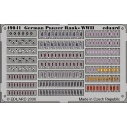 German Panzer Ranks WWII- Scale 1/48 - Eduard - EDD 49041
