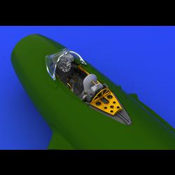 Mig-15 Cockpit- Scale 1/72 - Eduard - EDD 672022