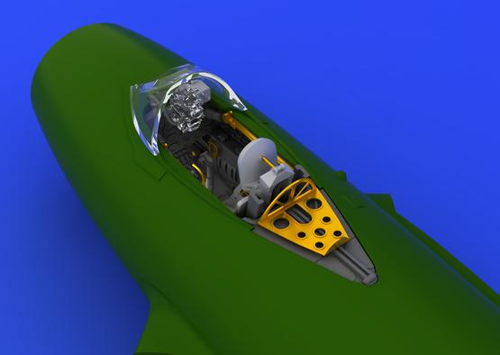 Eduard Mig-15 Cockpit- Scale 1/72 - Eduard - EDD 672022