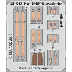 Fw 190F-8 Seatbelts- Scale 1/32 - Eduard - EDD 32843