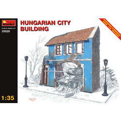 Hungarian City Building - Scale 1/35 - Mini Art - MIT35020