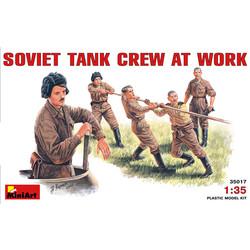Soviet Tank Crew At Work - Scale 1/35 - Mini Art - MIT35017