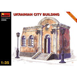 Ukrainian City Building - Scale 1/35 - Mini Art - MIT35006