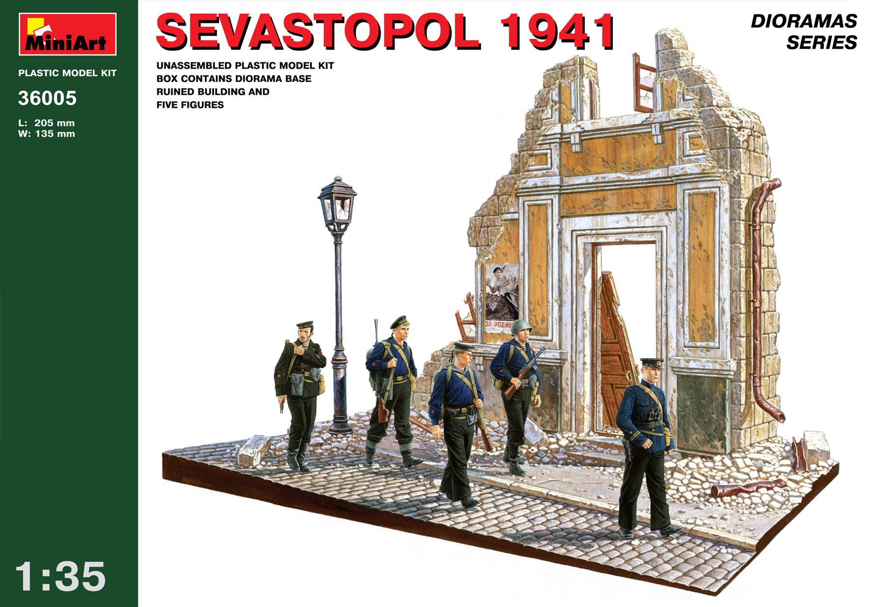 MiniArt Sevastopol 1941 - Scale 1/35 - Mini Art - MIT36005