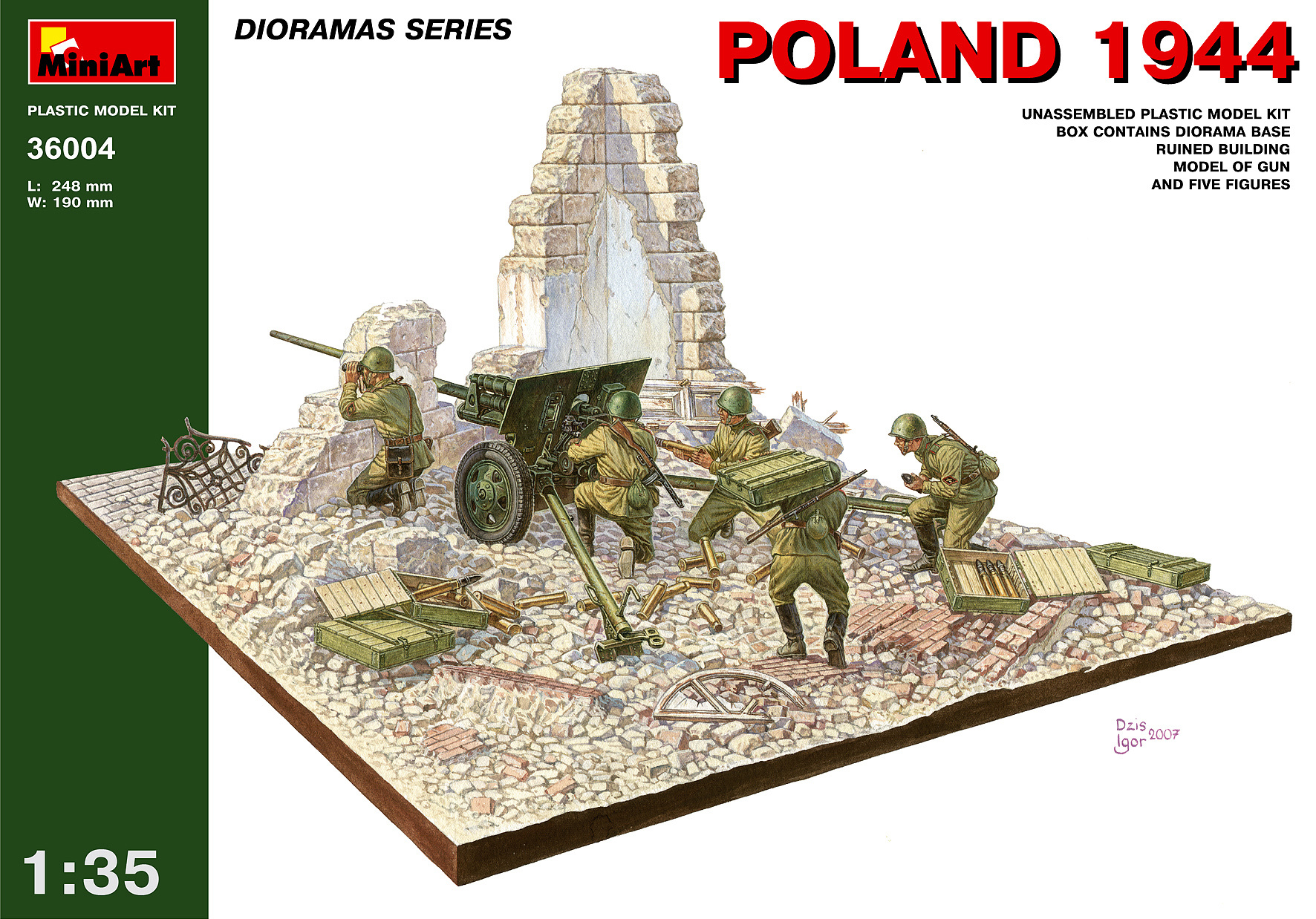 MiniArt Poland 1944 - Scale 1/35 - Mini Art - MIT36004