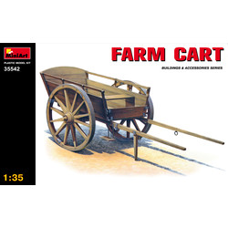 Farm Cart - Scale 1/35 - Mini Art - MIT35542