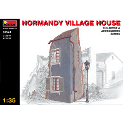 Normandy Village House - Scale 1/35 - Mini Art - MIT35524