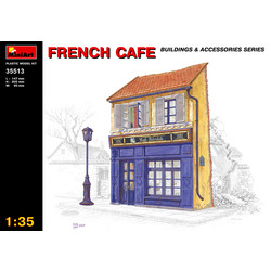 French Cafe - Scale 1/35 - Mini Art - MIT35513
