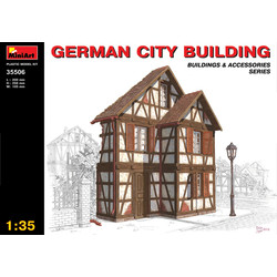 German City Building - Scale 1/35 - Mini Art - MIT35506