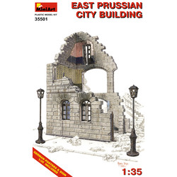 East Prussian City Building - Scale 1/35 - Mini Art - MIT35501