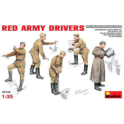 Red Army Drivers - Scale 1/35 - Mini Art - MIT35144