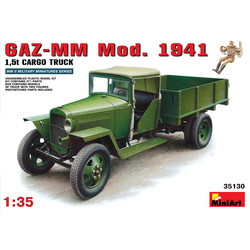Gaz-Mm. Model 1941 Cargo Truck - Scale 1/35 - Mini Art - MIT35130