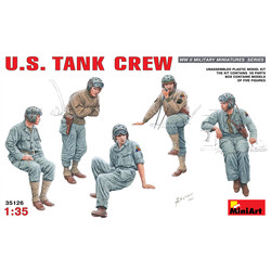 U.S. Tank Crew - Scale 1/35 - Mini Art - MIT35126