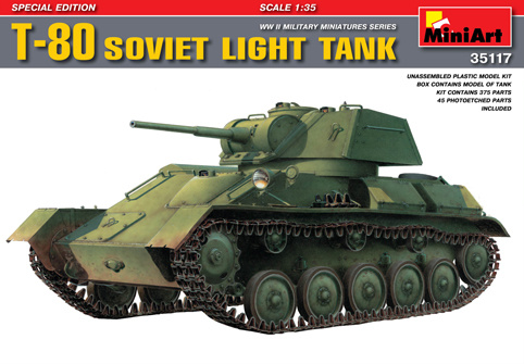 MiniArt T-80 . Special Edition - Scale 1/35 - Mini Art - MIT35117