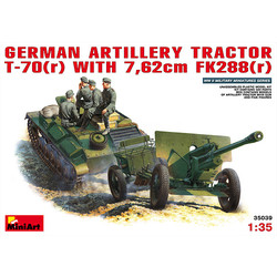 German Artillery Tractor T-70 (R - Scale 1/35 - Mini Art - MIT35039