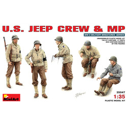 U.S. Jeep Crew - Scale 1/35 - Mini Art - MIT35047
