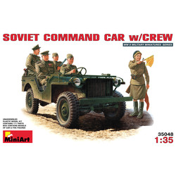 Soviet Command Car with crew - Scale 1/35 - Mini Art - MIT35048