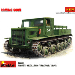 Soviet Artillery Tractor Ya-12.Early Production - Scale 1/35 - Mini Art - MIT35052