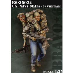 Us Navy Seals (3) - Scale 1/35 - Bravo 6 - B6-35024