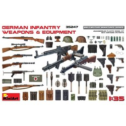 German Infantry Weapons & Equipment - Scale 1/35 - Mini Art - MIT35247