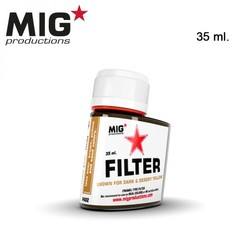Brown for Dark & Desert Yellow - 35ml - MIG Productions - MIG-F402
